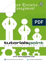 Human Resource Management Tutorial