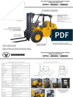 Uromac DTH-2500 Forklifts
