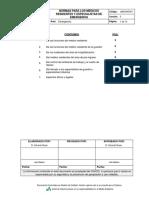 JMEGNG001 - Norma Para Medicos Residentes y Especialistas de Emergencia