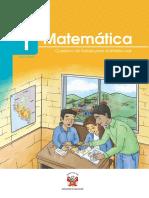 Matemática 1 Cuaderno de Trabajo Para El Ámbito Rural