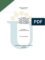 Informe Practicas 1 y 2 Fisicoquimica