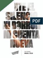 Ante El Silencio - Informe A19 2018_PUB (1)