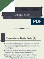 Normalisasi Data