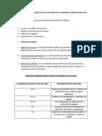 Desarrollo de Actividad Caso de Estudio de La Empresa Confecciones Sas