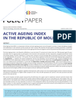 Active Aging in Republic of Moldova
