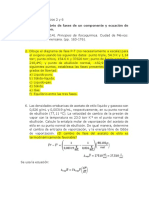 Fisicoquímica ejercicios 2 y 6.docx