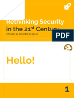 PA 201 - Rethinking Security in the 21st Century