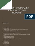 Sintesis Historica de La Arquitectura Moderna