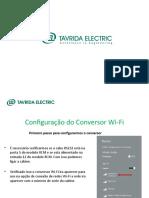 Apresentação Configuração Wifi