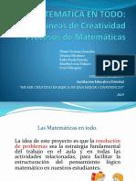 Presentación  Proyectos matematicas 2019