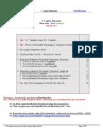 Stata for Logistic Regression