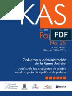 Análisis de las propuestas de cambio en el proyecto de equilibrio de poderes - Dejusticia