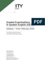 GESE Syllabus - 2010-2013[1]