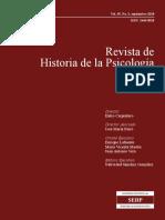 Klappenbach, Hugo (2018). Cambios en los primeros perfiles de Formacion en el Campo de la Psicologia en Arg - Desde la Planificacion Estatal a una Profesion Liberal