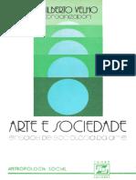 VELHO Gilberto Arte e Sociedade Ensaios de Sociologia da Arte 1977.pdf