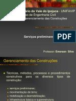 Aula - 1.2 - Servicos Preliminares - GECN.pdf