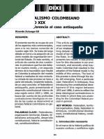 Art. El Federalismo Colombiano del Siglo XIX ANTIOQUIA.pdf