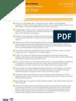 Determinants of Obesity Child Diet