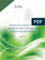 GNV Analisis de La Competitividad Del GNV en Vehiculos Convertidos