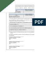 5 Formatos Aprobados en La Directiva N 003-2016-CG