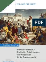 Direkte Demokratie – Geschichte, Entwicklungen und Perspektiven für die Bundesrepublik (von Gérard Boekenkamp)