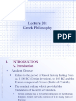 20 greek philosopher