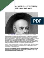 Întâlnirea dintre VASILE ALECSANDRI şi NAPOLEON al III.docx