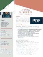 Nimra Latest CV