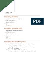 Calculating Curvature