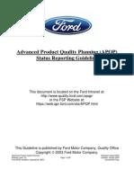 Apqp Ford (en) - Ene 05