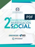 Segundo Concurso Nacional de Investigación Social