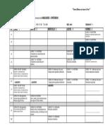 Calendario Abilidades Semana 1