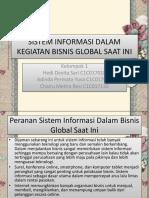 Sistem Informasi Dalam Kegiatan Bisnis Global Saat Ini