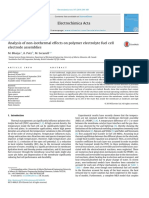 Analysis of Non-Isothermal Effects on Polymer Electrolyte Fuel Cell Electrode Assemblies - Madhur - EA Paper