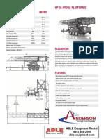 Hp35 Hydra Platform Specs