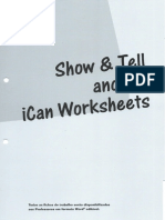 New Wave Revolution 9_Show & Tell_ican Worksheets.pdf
