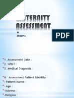 Maternity Assessment