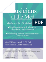 Musicians at the Med Poster