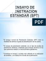 Ensayo de Penetracion Estandar (Spt) Pablo