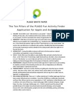 the ten pillars of plago fun activity finder application for apple and android