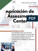 Taller de Aplicación de Assessment Center
