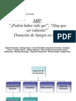 ABP (Falta Entrevista y Toma de Muestra)