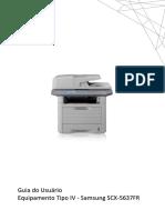 Manual Rapido de Configuração de Scaner Scx 5637