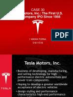 CASE 30 Tesla Motors