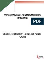 2-Costos y Cotizaciones en La Etapa de Logistica Internacional