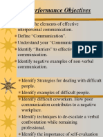 Interpersonal Communication Powerpoint - NDOC