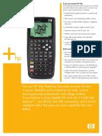 HP 50g Overview Datasheet