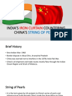 String of Pearls vs Iron Curtain