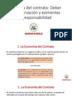 Economía del contrato Deber de conservación y eximentes de responsabilidad.pdf