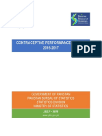 Contraceptive Performance Report 2016-17 Summary and Content s